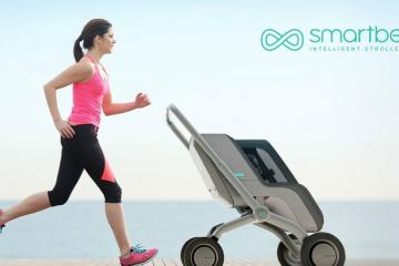 Smartbe Intelligent Stroller Follows You