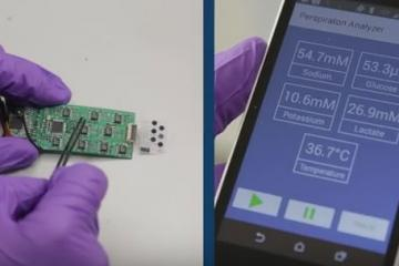 UC Berkeley's Sweat Sensor Monitors Your Health