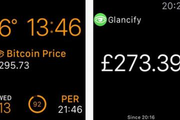 Glancify: Web Scraping Tool for Apple Watch