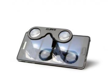 ClipVR: Pocket VR Glasses for Smartphones