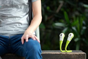 Music Wrap: Wearable, Transformable Bluetooth Speakers