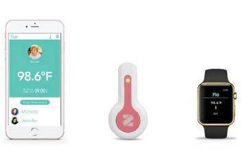 Flo: Smart Body Thermometer Links to Apple Watch