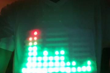 WiFi Controlled LED Shirt [Android]