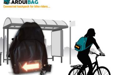 Arduibag: DIY Connected Backpack for Bike Riders