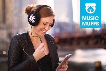 Music Muffs Keep You Warm & Play Your Music