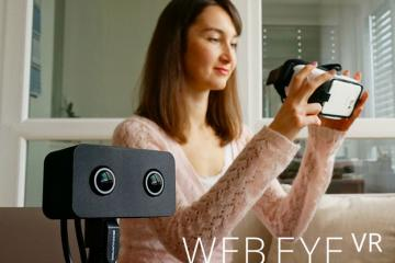WebEye VR: Virtual Reality Webcam