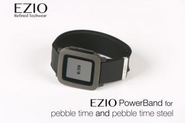 EZIO PowerBand for Pebble Time