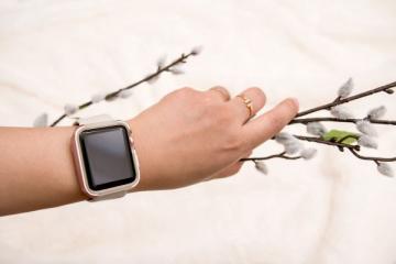 X-Doria: Rose Gold Defense Edge for Apple Watch