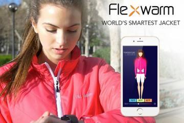 Flexwarm: Smartwatch Compatible Heated Jacket