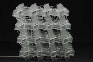 Harvard Researchers Design Transformable 3­D Material