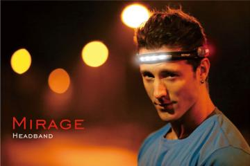 Mirage Headband with Front and Side Lights