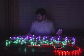 ViVi: Wearable Music LED Controller