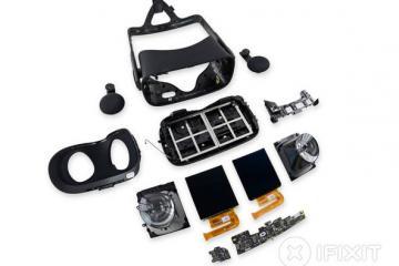 Oculus Rift Teardown: Repairability Score (7/10)