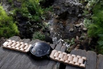 Ottm: Wood Bands for Apple Watch, Android Wear Smartwatches