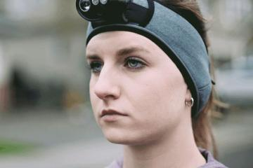 The Convertible HDL: Smart Action Cam, Headlamp for Runners