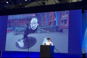 Facebook's VR Selfies Demoed