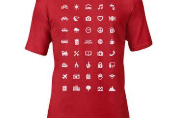 ICONSPEAK World T-Shirt for Travelers
