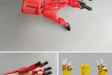 DIY: 3D Printed Prosthetic Hand