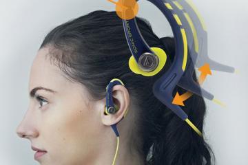 Audio-Technica ATH-SPORT1 SonicSport In-ear Sport Headphones