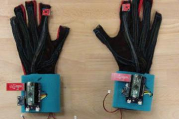 SignAloud: Gloves Translate Sign Language Into Text & Speech