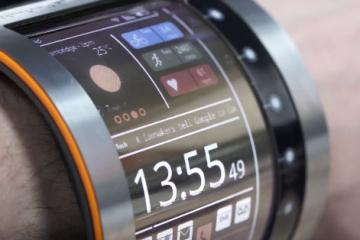 FlexEnable OLED Smartwatch