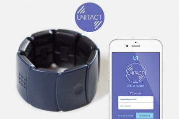 Unitact: Connected Wearable for Deaf People