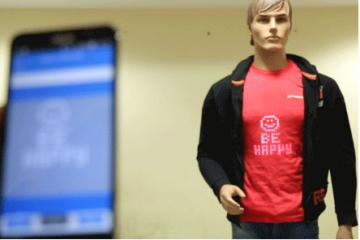 Broadcast: Smart Touch Enabled T-shirt