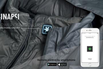 Sinapsi: Smartphone Enabled Heated Jacket
