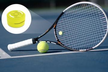 Smart Dampener for Tennis Fitness & Shot Analysis