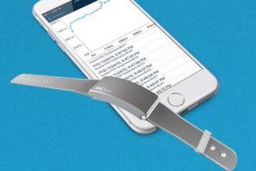 BACtrack Skyn Wearable Measures Blood Alcohol Levels