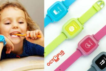 Octopus Icon-Based Watch for Kids