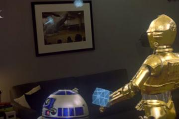 Magic Leap & ILMxLAB Working On Star Wars Holograms