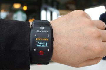 Sleepman Sleep Tracker & Fatigue Alert Device