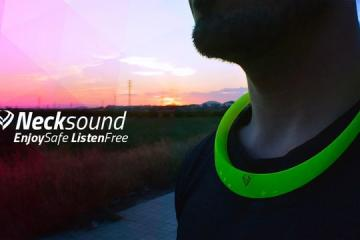 Necksound Smart Wireless Necklace Audio Device