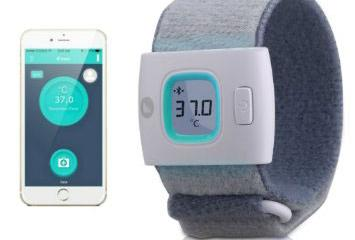 Fii iFever Smart Wearable Thermometer