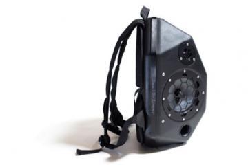 BeatBringer Bluetooth Speaker Backpack