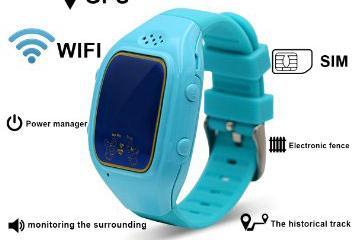 Tecomax Baby Tracker / GPS Wristwatch