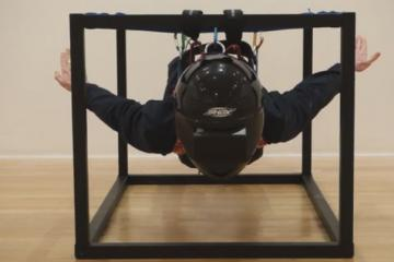 VR Flying Squirrel Machine for Immersive Gaming