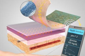 Sutures Using Smart Threads to Detect Body's Temperature, pH