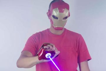 Iron Man Glove with 3W Laser