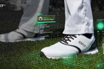 IOFIT Smart Golf Shoes For Swing Analysis