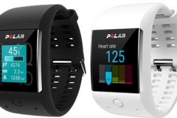 Polar M600 Waterproof Sports Watch Runs Android Wear