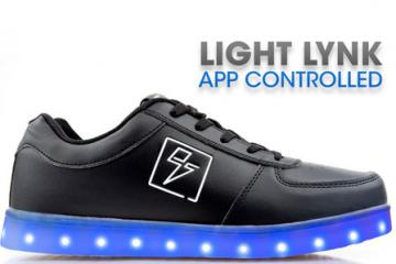 Bolt App Controlled LED Glow Sneakers