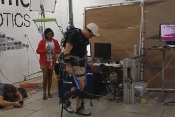 Mina v2 Exoskeleton for Mobility Assistance