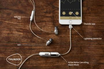 Thunder Smart Noise-Cancelling Earphones for iPhone
