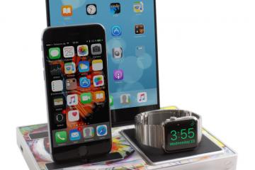 EVOLUS Docking Stand for iPhone, Apple Watch, iPad Pro