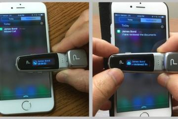 Pinn Bluetooth Earbud with OLED Display