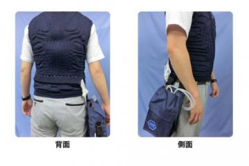 JAXA Reikyaku Cooling Vest Is Water Cooled