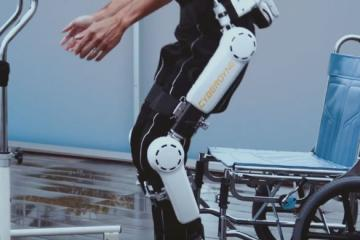 HAL Robotic Leg with Intel Atom Processor