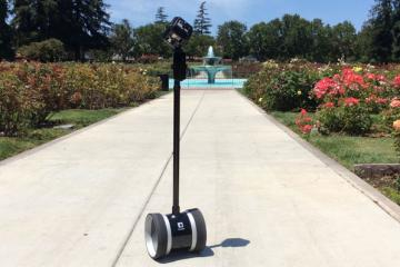 360 Camera Dolly with Double Telepresence Robot